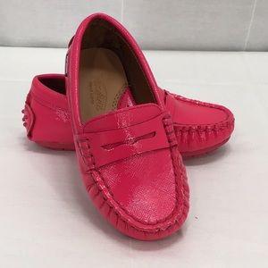Venettini Savor Penny Loafer Little Girl's Shoes